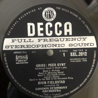 SXL 2012 Grieg Peer Gynt London Symphony Orchestra Oivin Fjeldstad