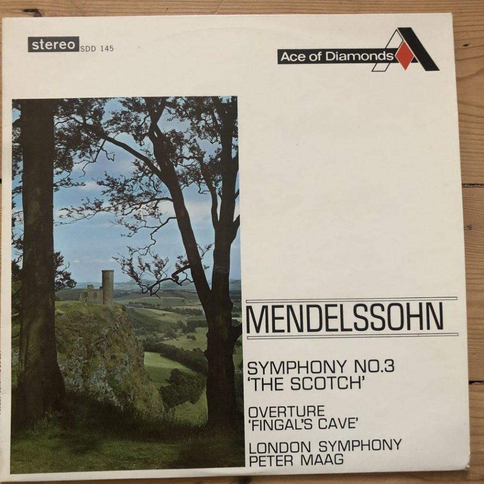 SDD 145 Mendelssohn Symphony No. 3
