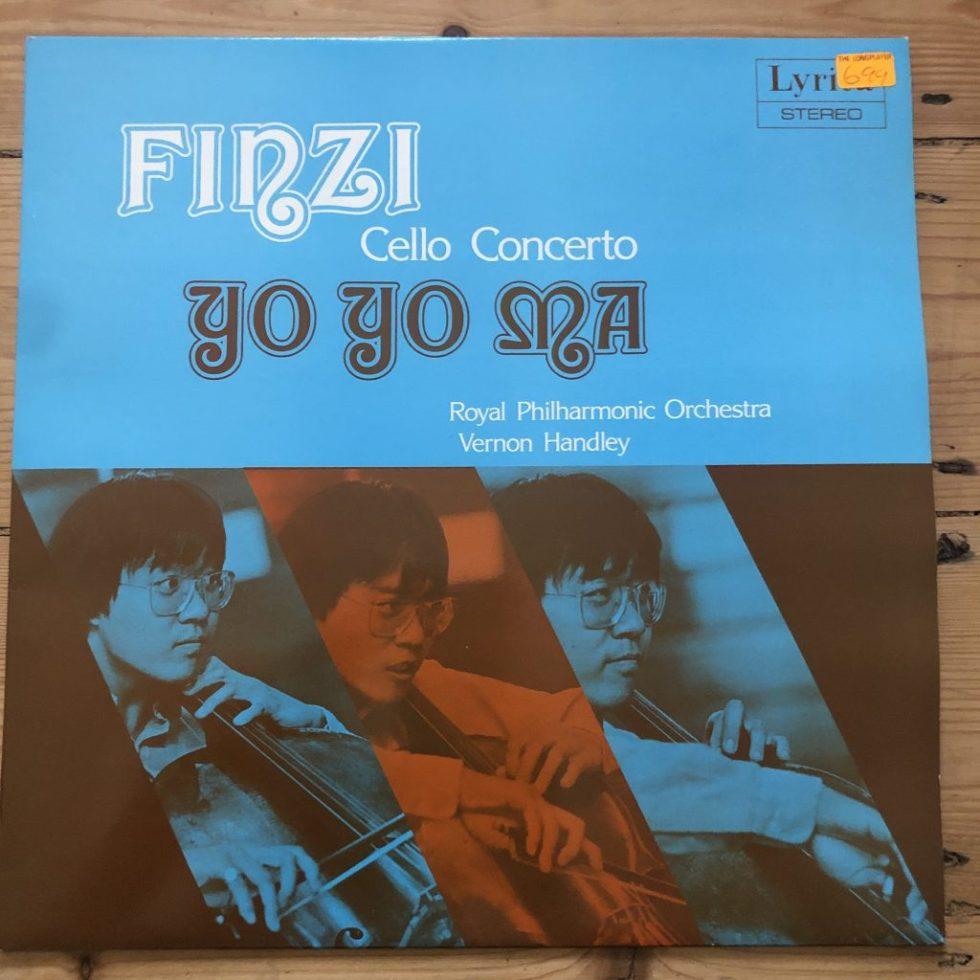 SRCS 112 Finzi Cello Concerto Yo Yo Ma / Handley / RPO