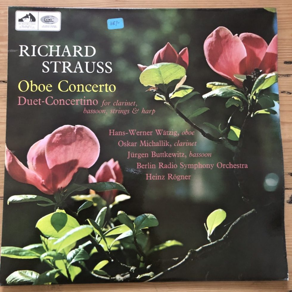 ASD 2320 Richard Strauss Oboe Concerto