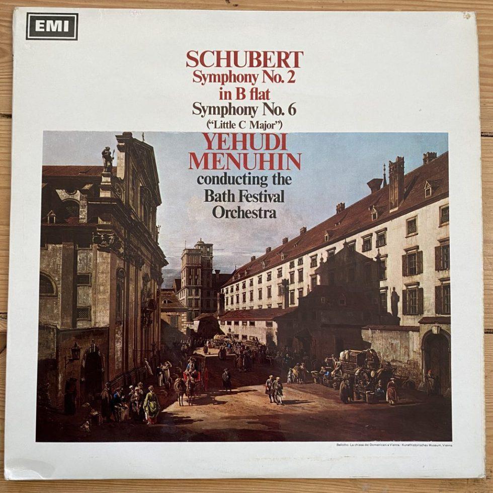 ASD 2343 Schubert Symohonies Nos. 2 & 6 / Menuhin S/C