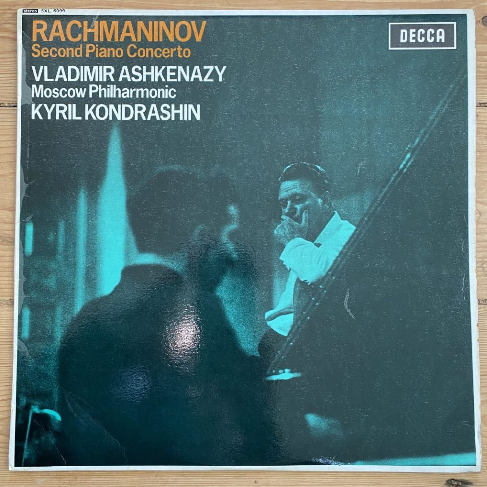 SXL 6099 Rachmaninov Piano Concerto No. 2
