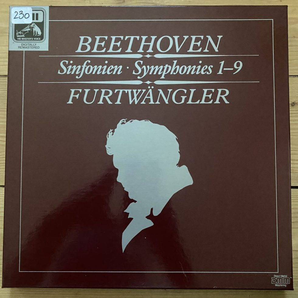 EX 29 0660 3 Beethoven Symphonies Nos. 1 - 9 / Furtwangler 6 LP box