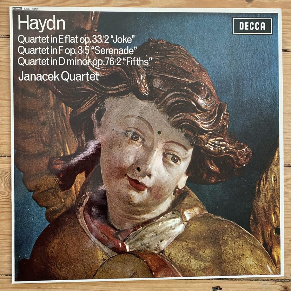 SXL 6093 Haydn Quartets 'Joke', 'Serenade' & 'Fifths' / Janacek Quartet