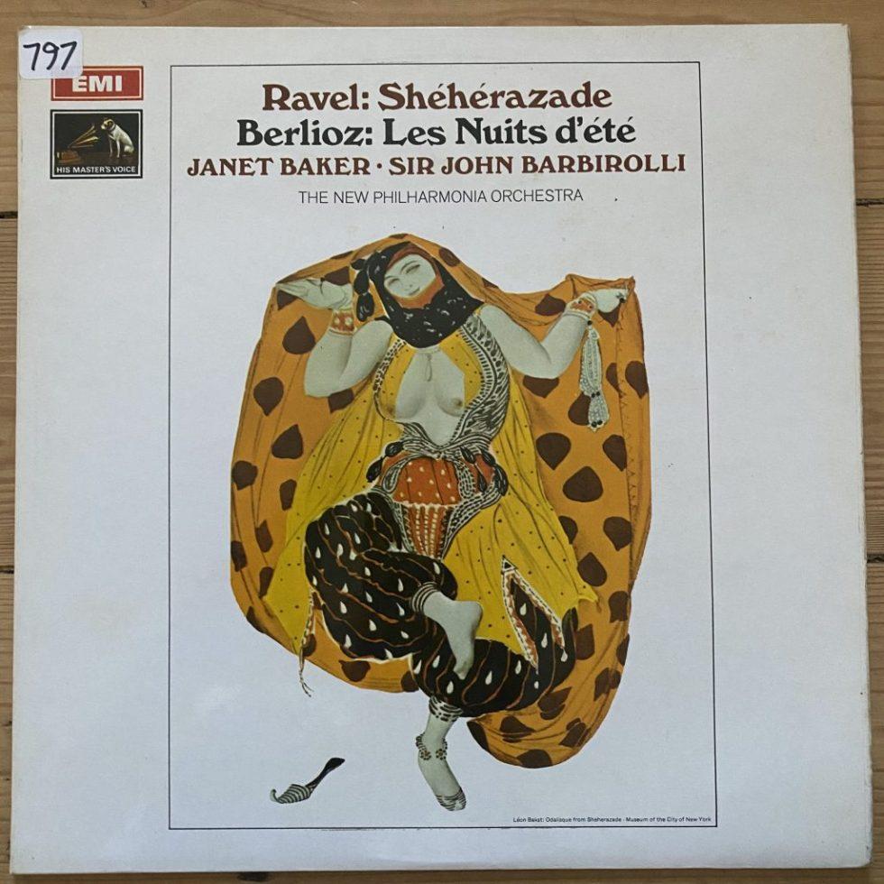 ASD 2444 Ravel Sheherazade / Berlioz Les Nuits d'ete