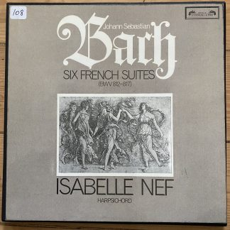 SOL 291-2 Bach Six French Suites