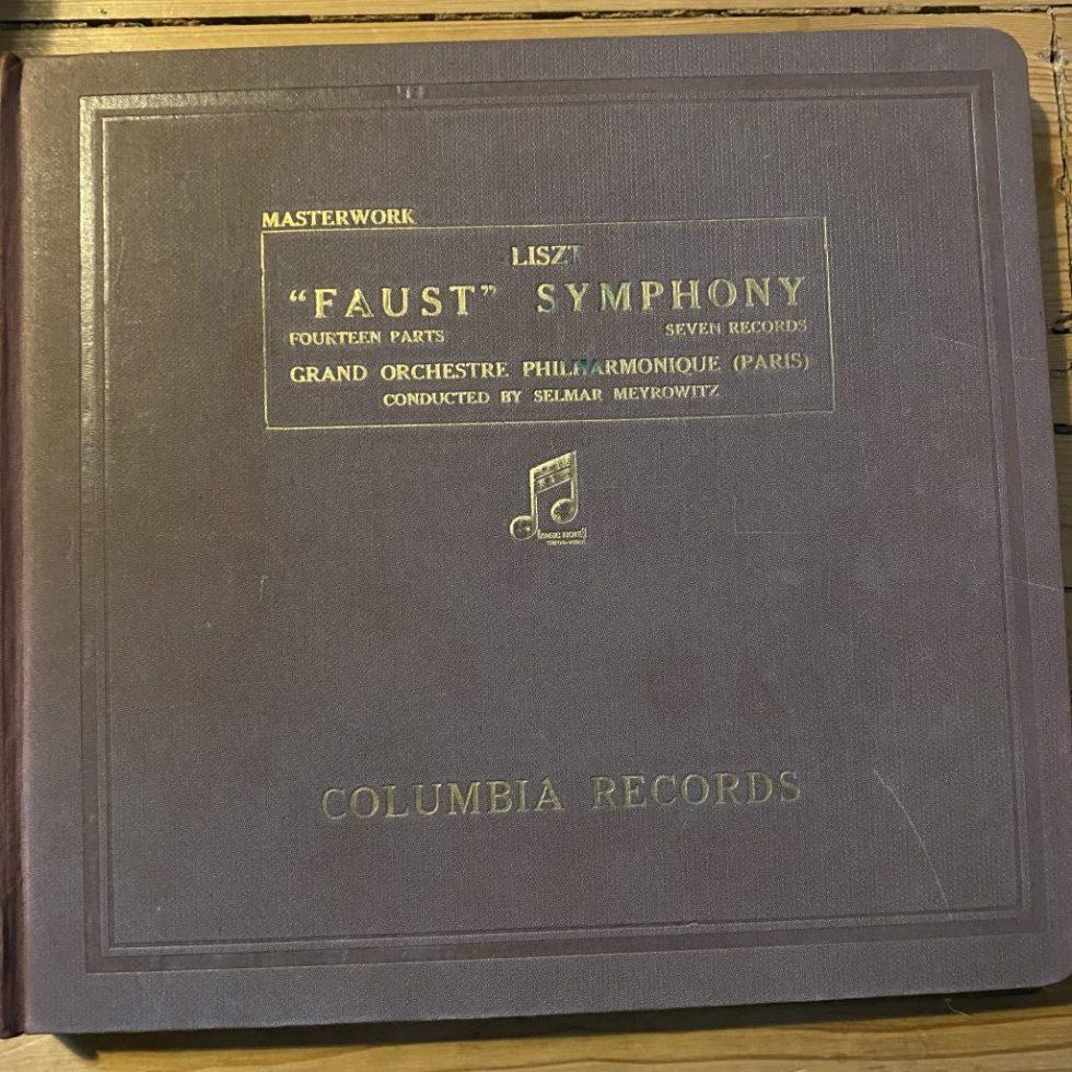 LX 8215/21 Liszt Faust Symphony