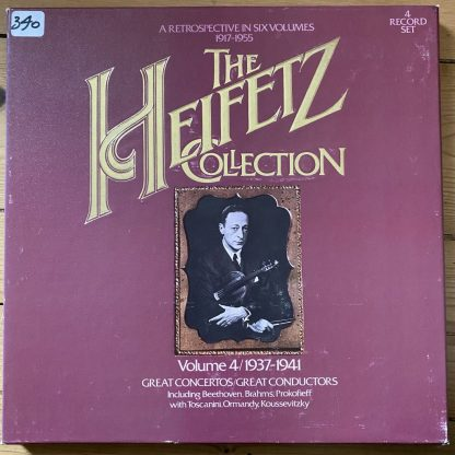 ARM4 0945 Heifetz Collection Vol 4 1937-1941