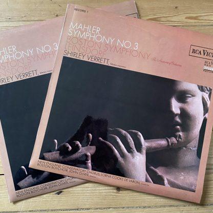 SB 6765/6 Mahler Symphony No. 3 / Leinsdorf