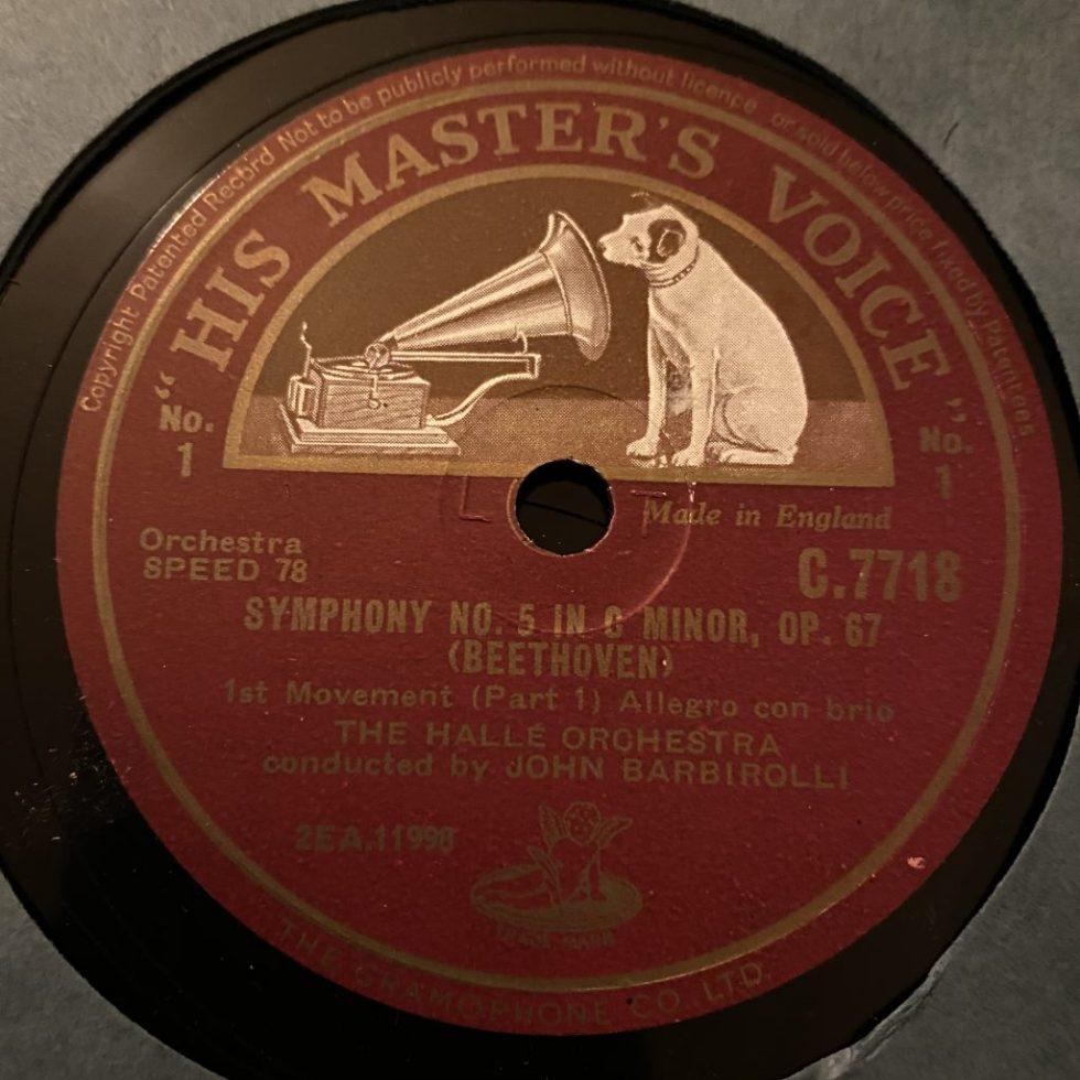 C 7718/21 Beethoven Symphony No. 5