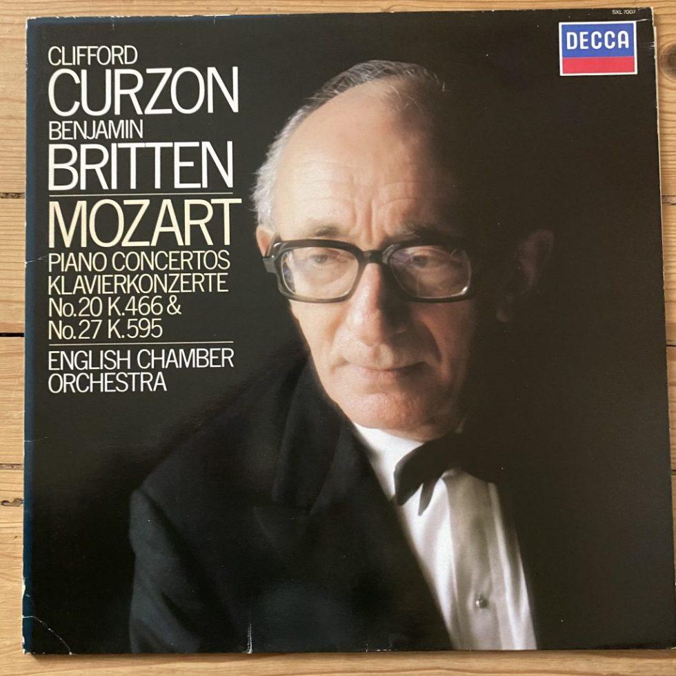 SXL 7007 Mozart Piano Concertos Nos. 20 & 27 / Clifford Curzon / Britten / ECO