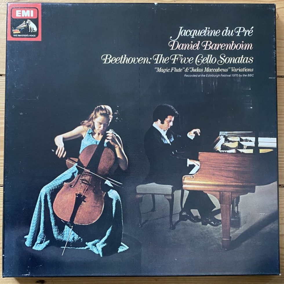 SLS 5042 Beethoven The 5 Cello Sonatas Jacqueline Du Pre
