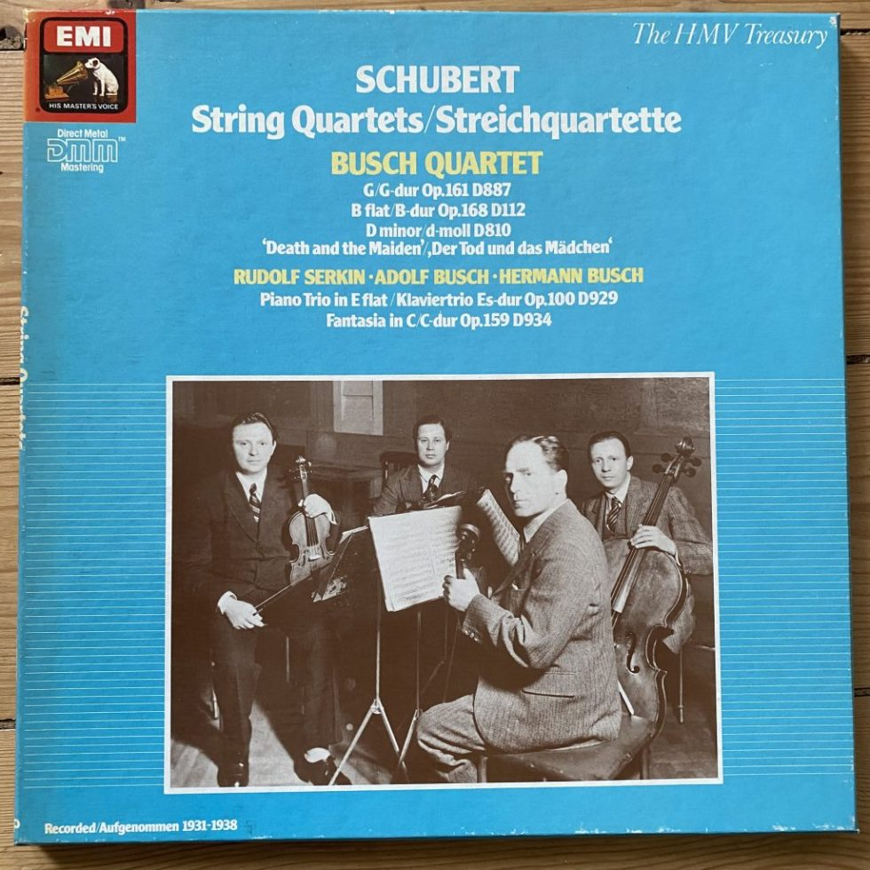 EX 137 290950 3 Schubert String Quartets