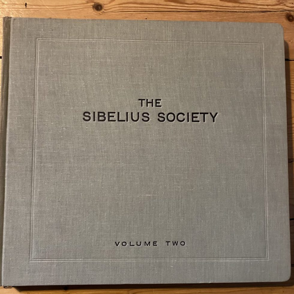 DB 7388/94 Sibelius Society Volume 2