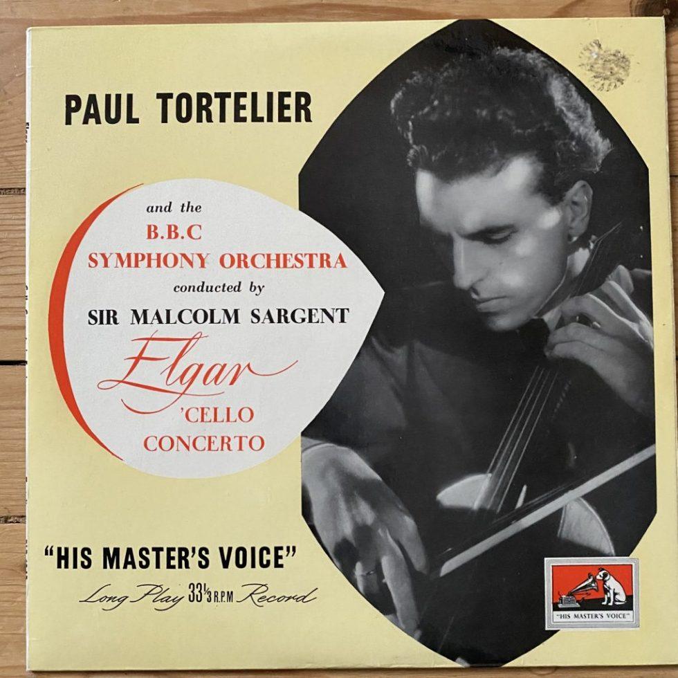 BLP 1043 Elgar Cello Concerto / Paul Tortelier / Sargent