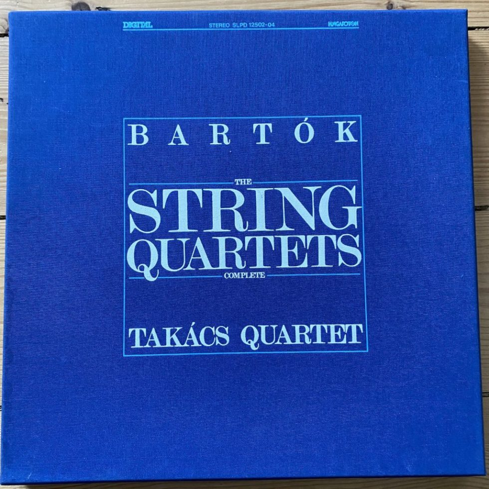 SLPD 12502-04 Bartok The String Quartets
