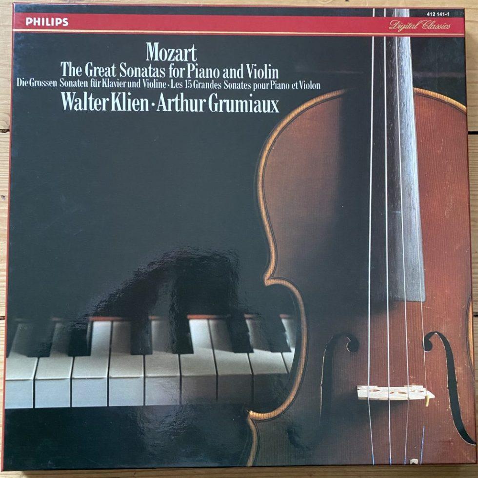 412 141-1 Mozart 15 Great Sonatas / Arthur Grumiaux /