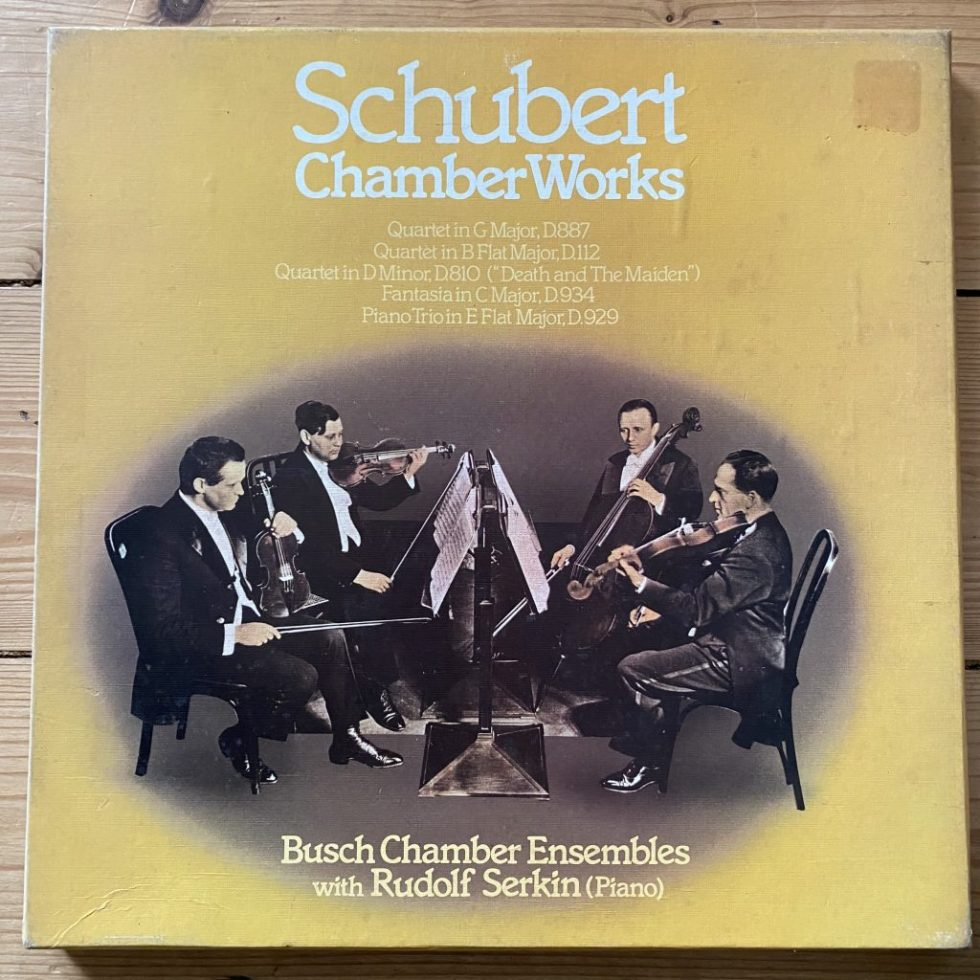 SHB 53 Schubert Chamber Works