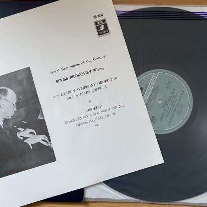 GR 2042 Serge Prokofiev Plays His Own Piano Works