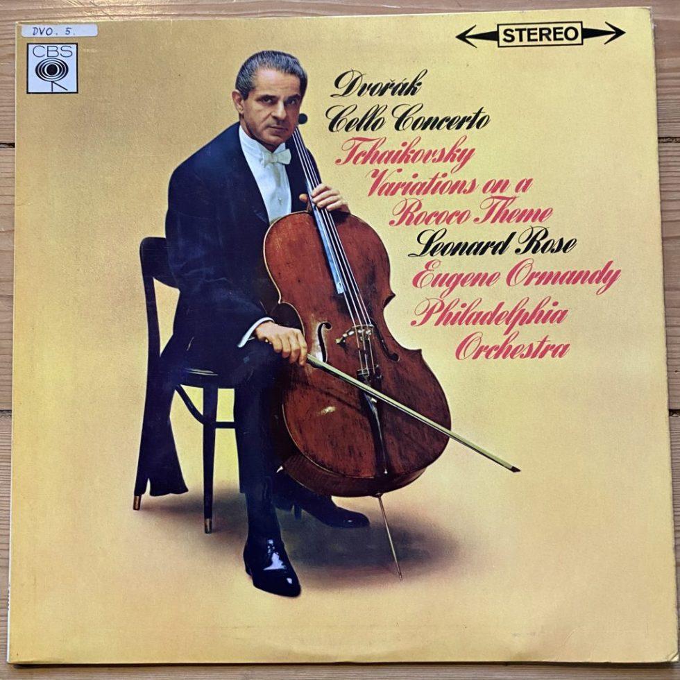 SBRG 722296 Dvorak Cello Concerto etc.