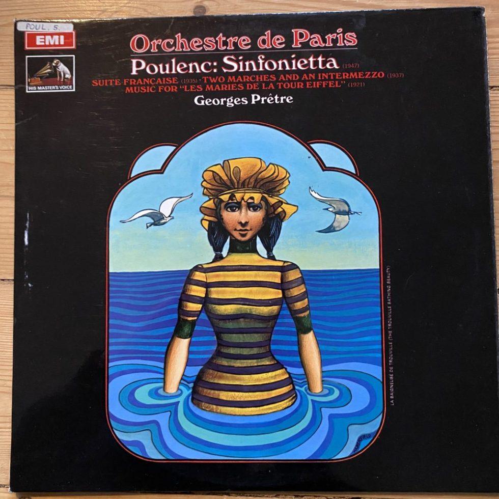 ASD 2450 Poulenc Sinfonietta etc. / Pretre / Orchestre de Paris S/C
