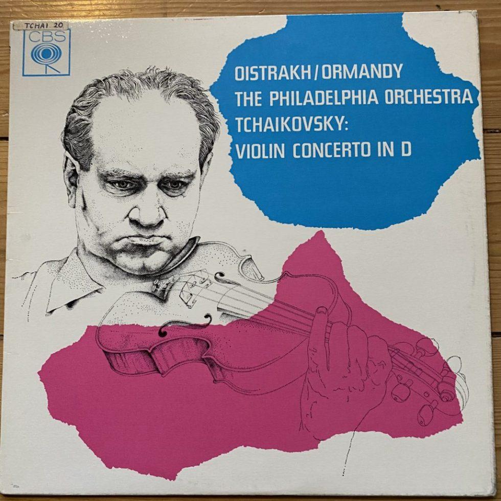 SBRG 72064 Tchaikovsky Violin Concerto / Oistrakh