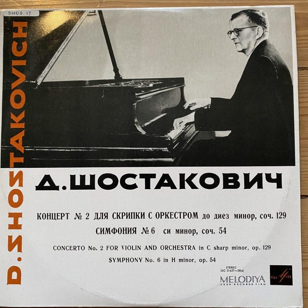 33C 01627-28 Shostakovich Violin Concerto No. 2