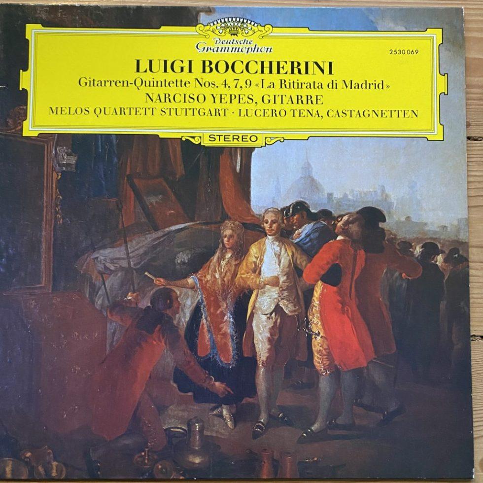 2530 069 Boccherini Guitar Quintets Narciso Yepes Melos Quartet