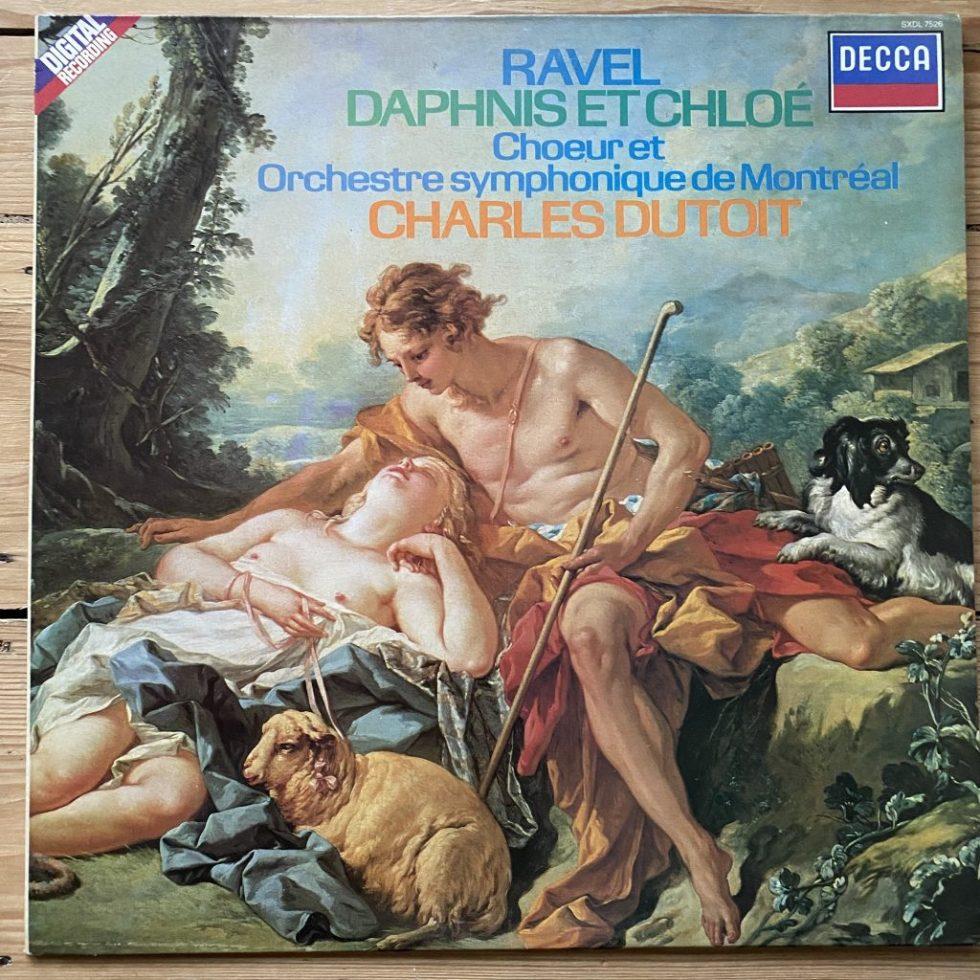 SXDL 7526 Ravel Daphnis et Chloe / Dutoit / Montreal SO & Chorus