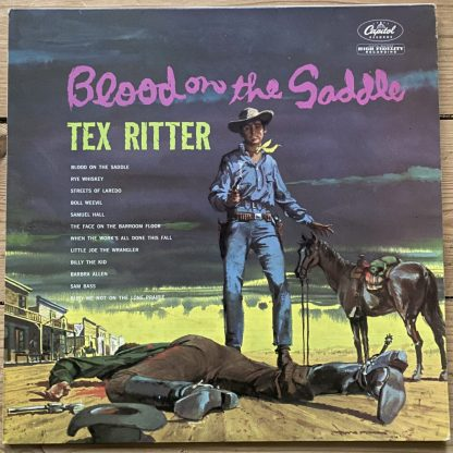 T1292 Tex Ritter Blood On The Saddle