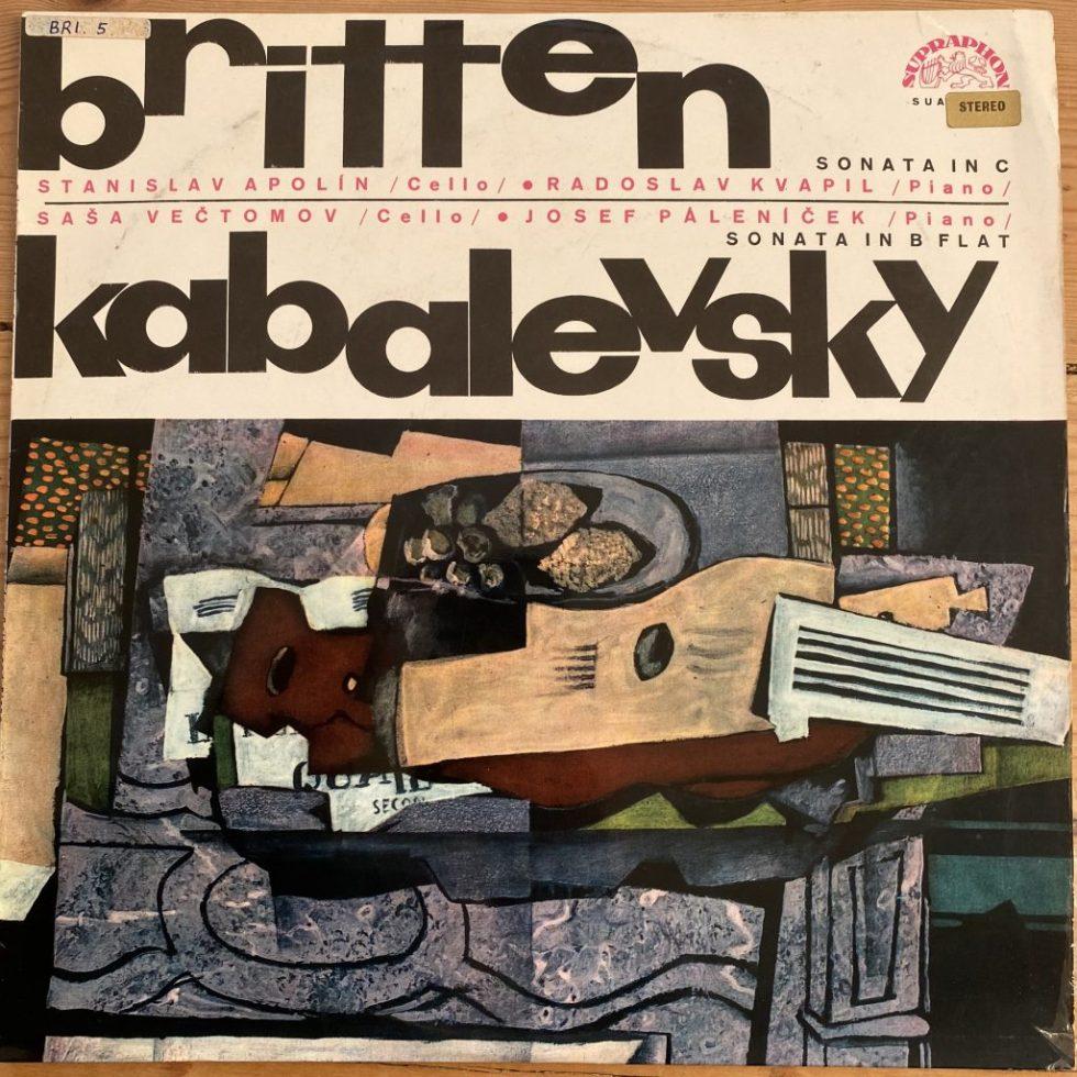 SUA ST 50559 Britten Cello Sonata In C / Kabalevsky Sonata In B Flat / Aplolin / Vectomov