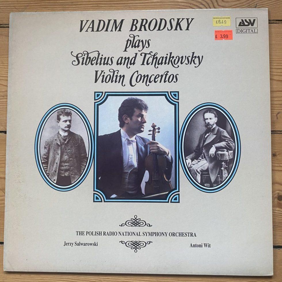 DCA 564 Sibelius / Tchaikovsky Violin Concertos