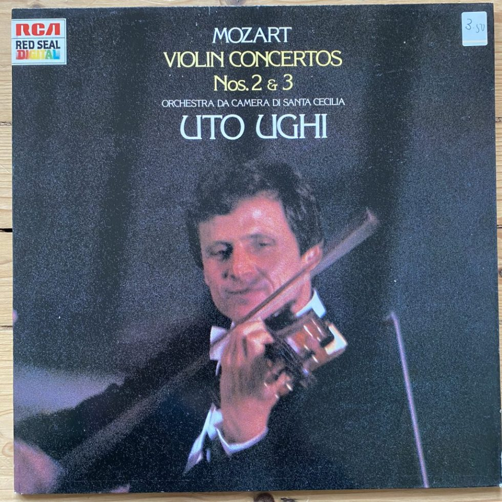 RL 70936 Mozart Violin Concertos Nos. 2 & 3