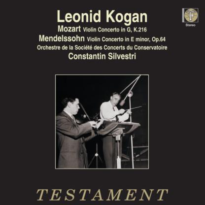SBTLP 1255 Mozart / Mendelssohn Violin Concertos / Leonid Kogan