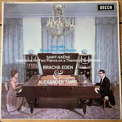 SXL 6303 Brahms Sonatas For Two Pianos /