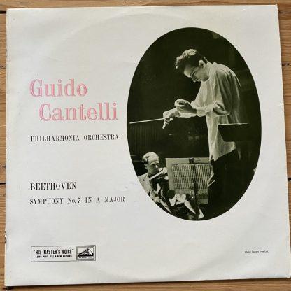 ALP 1472 Beethoven Symphony No. 7 / Cantelli / Philharmonia Orchestra R/G