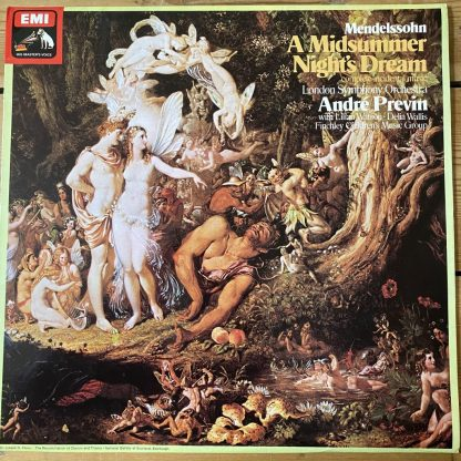 ASD 3377 Mendelssohn A Midsummer Night's Dream / Previn / LSO HP List