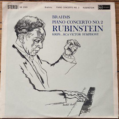 SB 2069 Brahms Piano Concerto No. 2 / Rubinstein