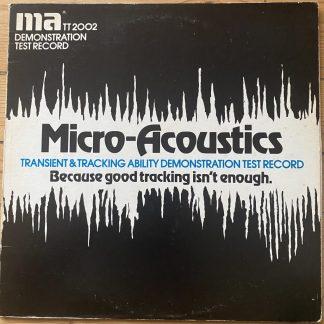 TT2002 Micro-Acoustics TT 2002