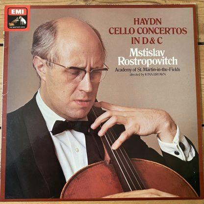 ASD 3255 Haydn Cello Concertos in D & C / Rostropovich / ASMF