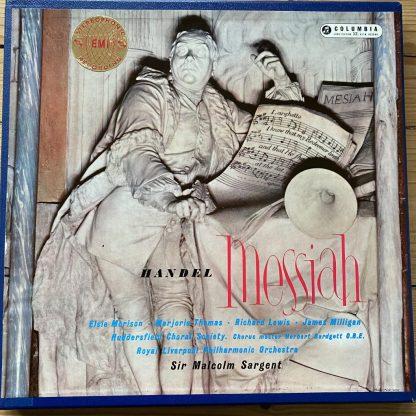 SAX 2308-10 Handel Messiah / Sargent etc