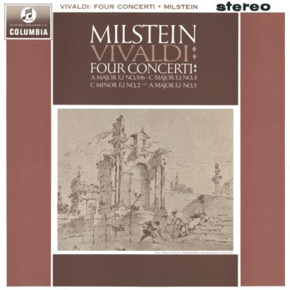 SAX 2518 Vivaldi Four Concerti For Violin & String / Nathan Milstein