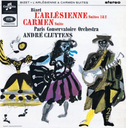 SAX 2566 Bizet L'Arlesienne Suites Nos. 1 & 2, Carmen Suite / Cluytens