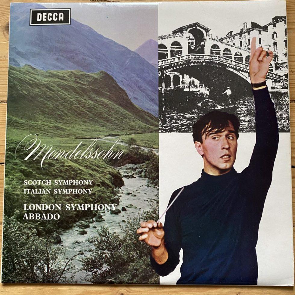 """SXL 6363 Mendelssohn Symphonies 3 """"Scotch"""" & 4 """"Italian"""" / Abbado"""