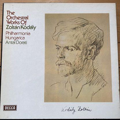 SXLM 6665-7 Orchestral Works of Kodaly / Dorati 3 LP box