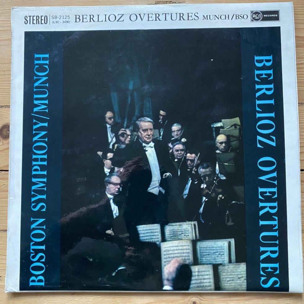 SB 2125 Berlioz Overtures / Munch / BSO O/S