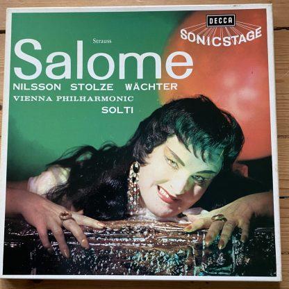 SET 228-9 Strauss Salome / Nilsson / Stolze