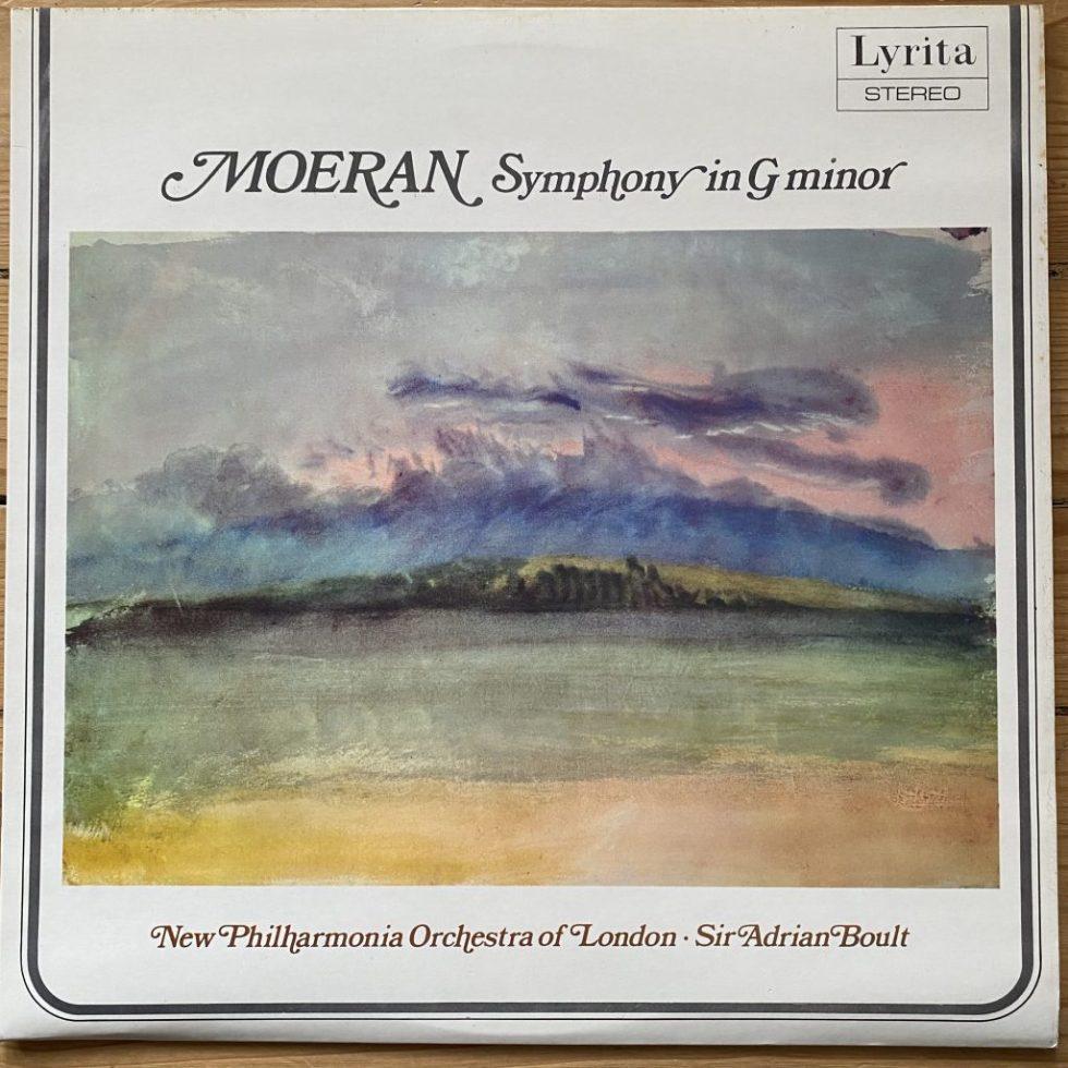 SRCS 70 Moeran Symphony in G Minor / Boult / NPO