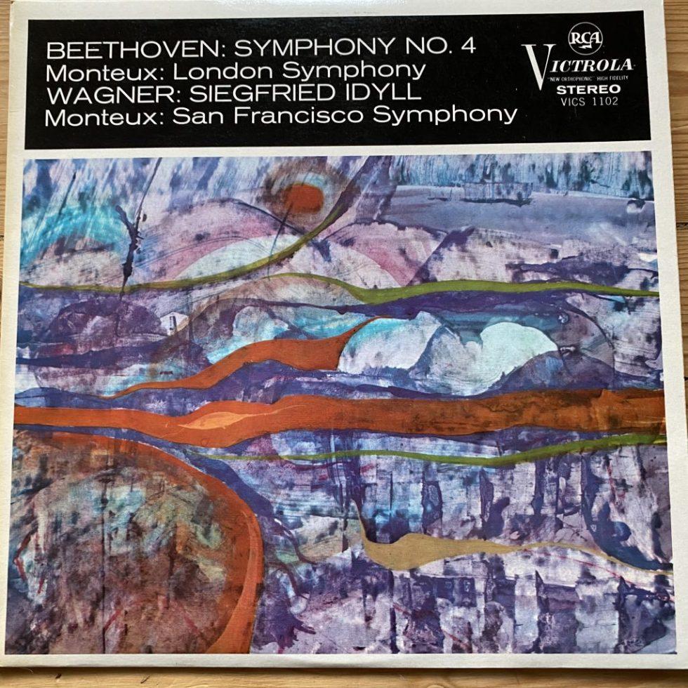 VICS 1102 Beethoven Symphony No. 4 / Wagner Siegfried Idyl