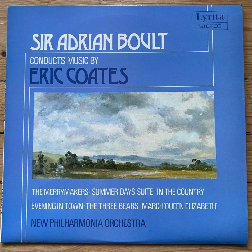 SRCS 107 Eric Coates The Merrymakers Overture etc / Boult / NPO